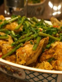 chicken with saffron rice recipe