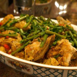 chicken with saffron rice recipe