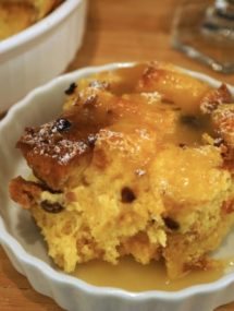 pandoro bread pudding recipe