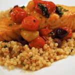 salmon with cherry tomato confit recipe