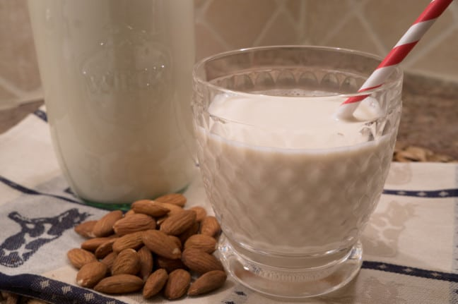 vanilla almond milk recipe