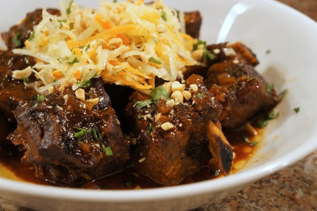 slow cooker asian short ribs recipe