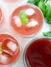 strawberry basil soda recipe