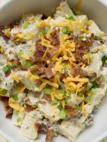bacon cheddar potato salad recipe