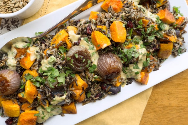 butternut squash and wild rice salad recipe