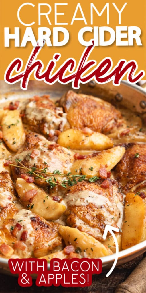 how to make hard cider chicken