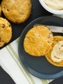 maple bacon sweet potato biscuits recipe