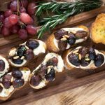 roasted grape crostini recipe