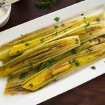 braised leeks with dill sauce recipe