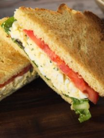 basil egg salad recipe