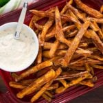 sweet potato fries with chipotle lime aioli recipe