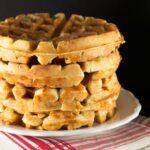 savory beer raised waffles recipe