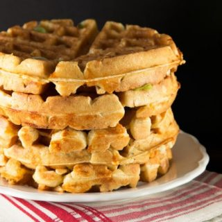 savory beer raised waffles recipe