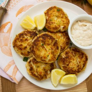 roux crab cakes recipe