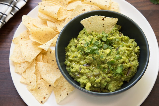 Smoky Grilled Guacamole