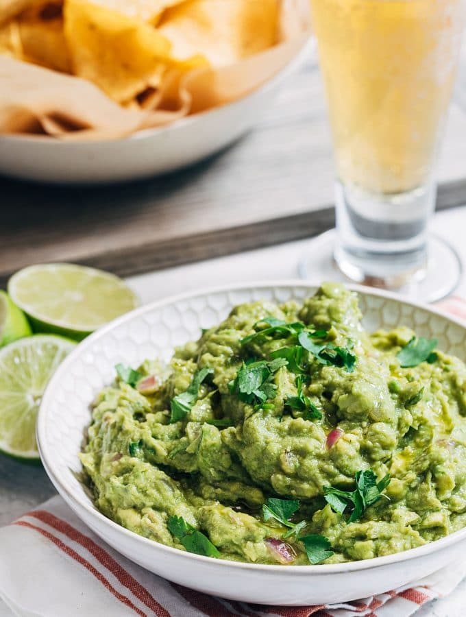Grilled Avocado Guacamole