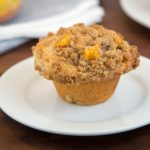 peach crumb muffin recipe