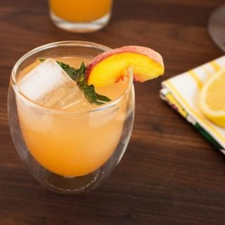 peach mint lemonade recipe