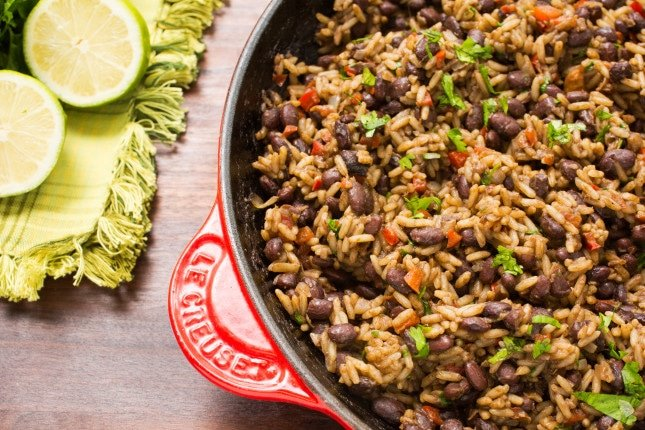 Gallo Pinto (Costa Rican Beans and Rice)