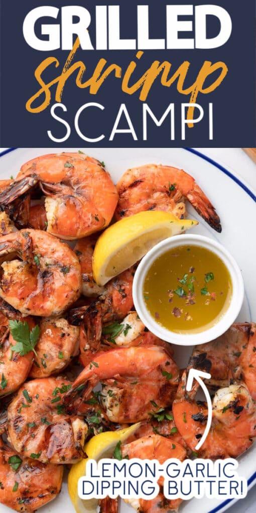 how to make grilled shrimp scampi