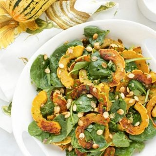 delicata squash with brown butter vinaigrette recipe