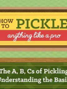home pickling tutorial