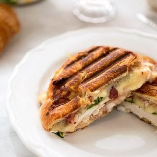 turkey croissant panini recipe