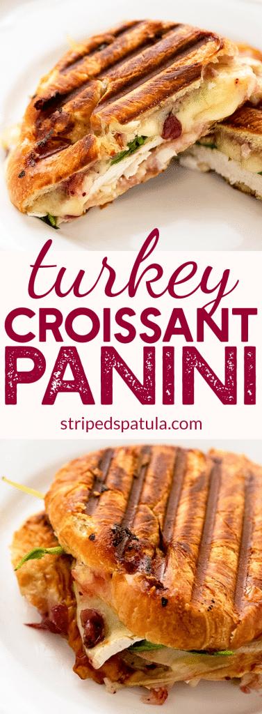 turkey brie croissant panini recipe