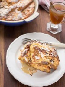 baked panettone french toast recipe