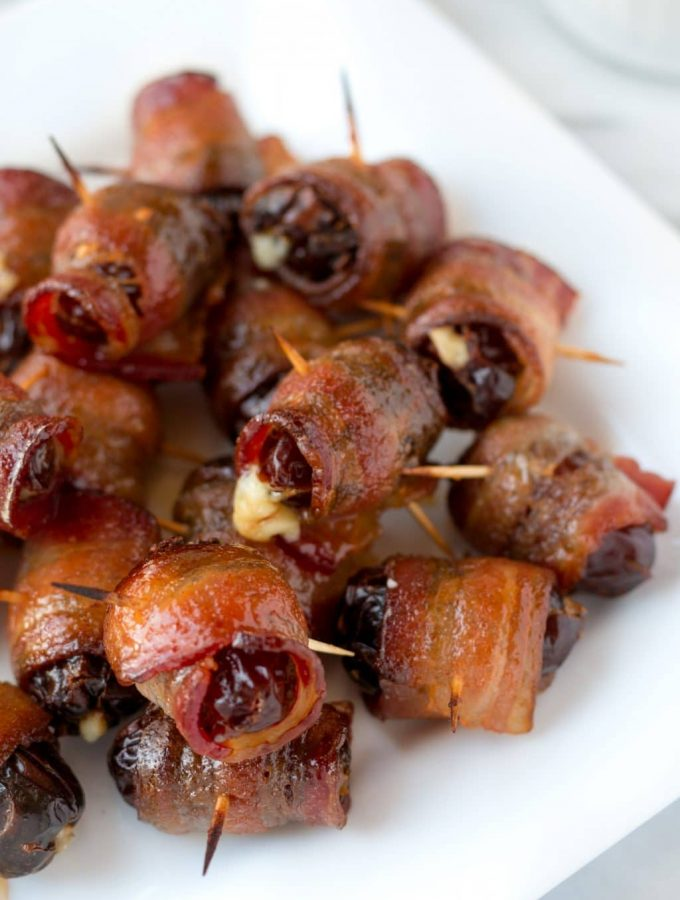 Maple Sriracha Devils on Horseback