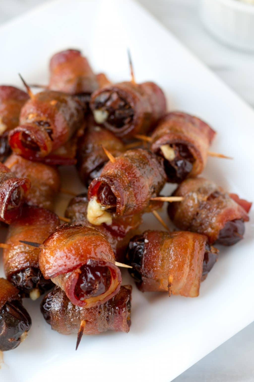 Maple Sriracha Devils on Horseback | Striped Spatula