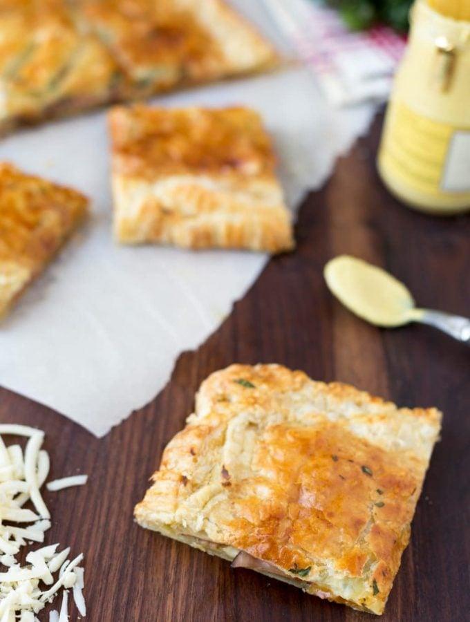 ham and swiss slab pie recipe