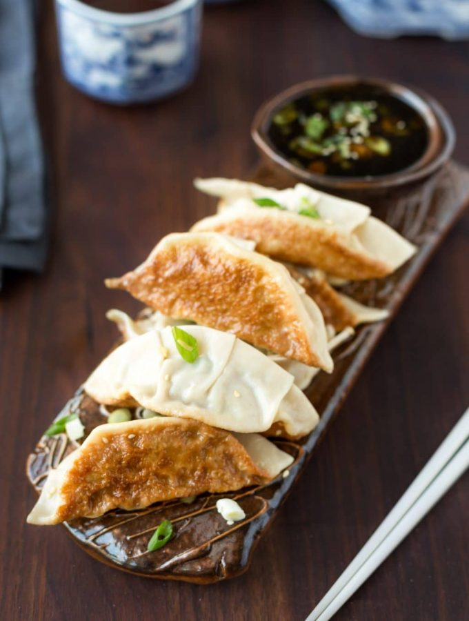 Takeout at home: Chicken Potstickers