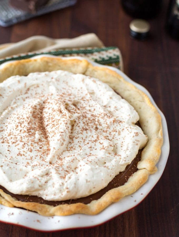 chocolate stout cream pie recipe