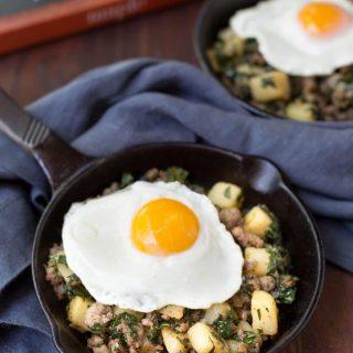 potato and sausage breakfast skillet maple cookbook #sponsored