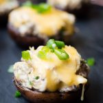 Crab Stuffed Mushrooms with Gouda Cheese