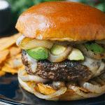 how to make a gourmet burger with cuban mojo sauce