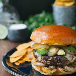 mojo beef burgers hamburgers recipe