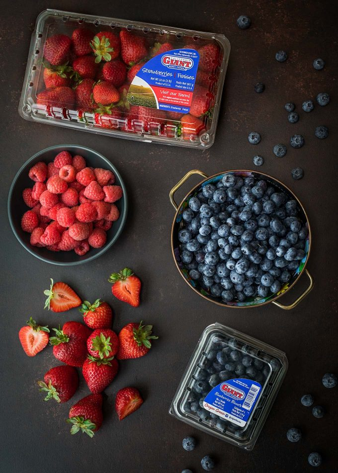 sponsored blueberries strawberries raspberries