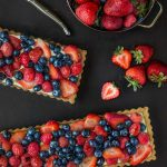 sponsored lemon cream mixed berry tart recipe