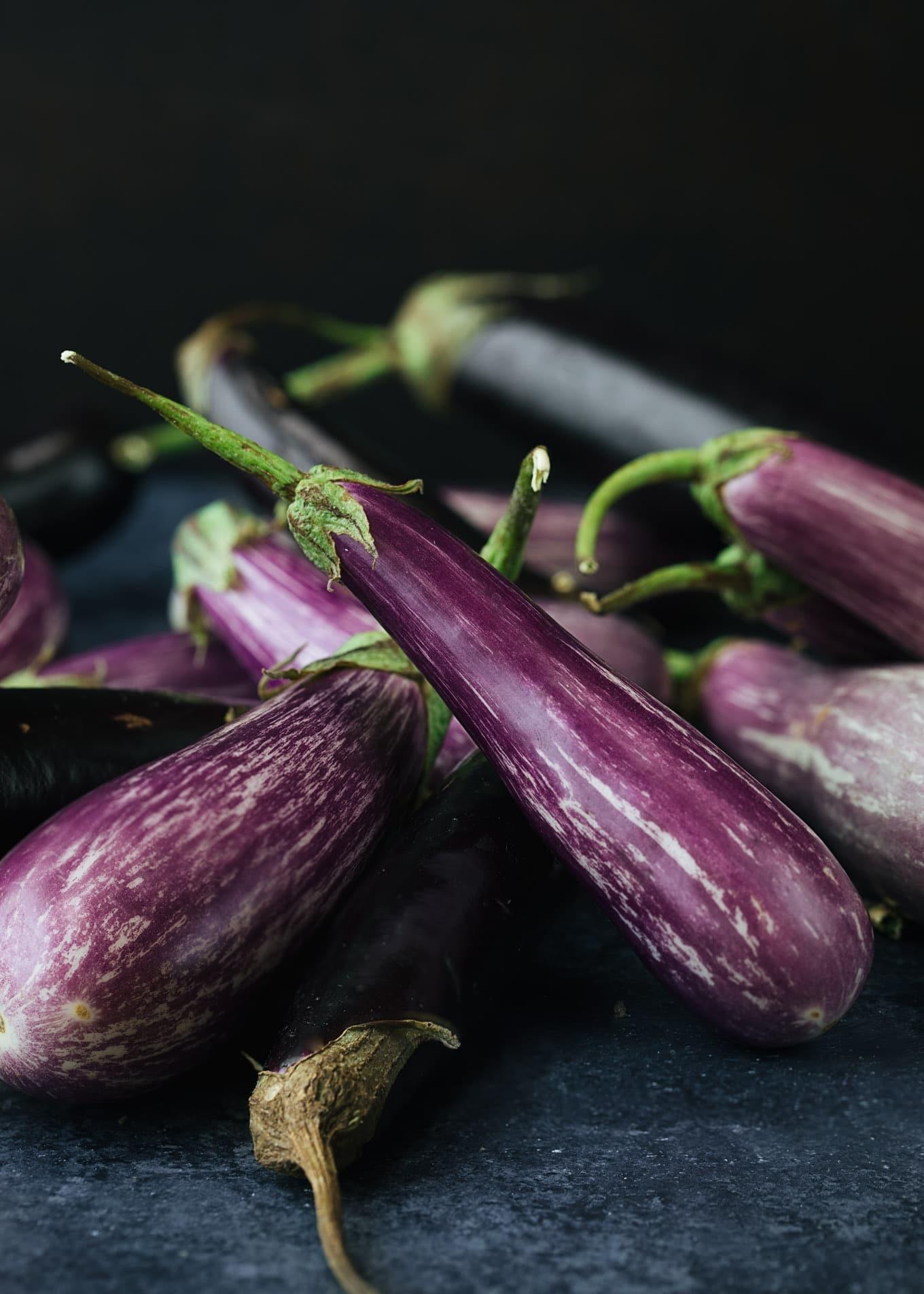 roasted eggplant and cherry tomato sauce