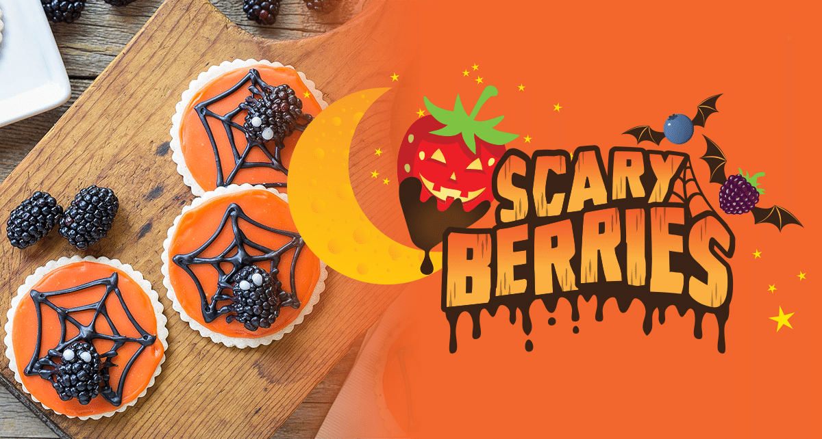 sponsored scary berries Halloween party recipes