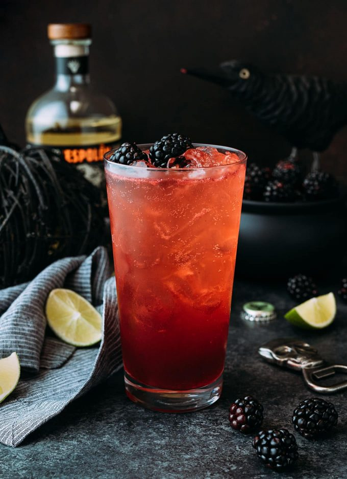 sponsored blackberry diablo halloween drink recipe