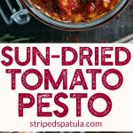 Sun Dried Tomato Pesto Recipe (Pesto Rosso)