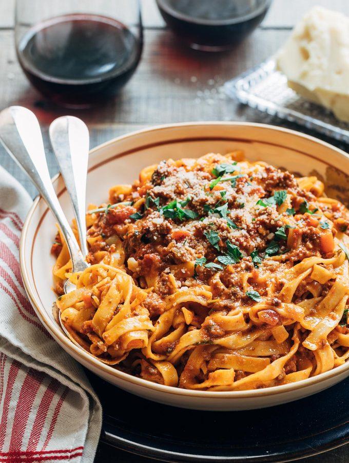Bolognese Sauce Recipe (Instant Pot)
