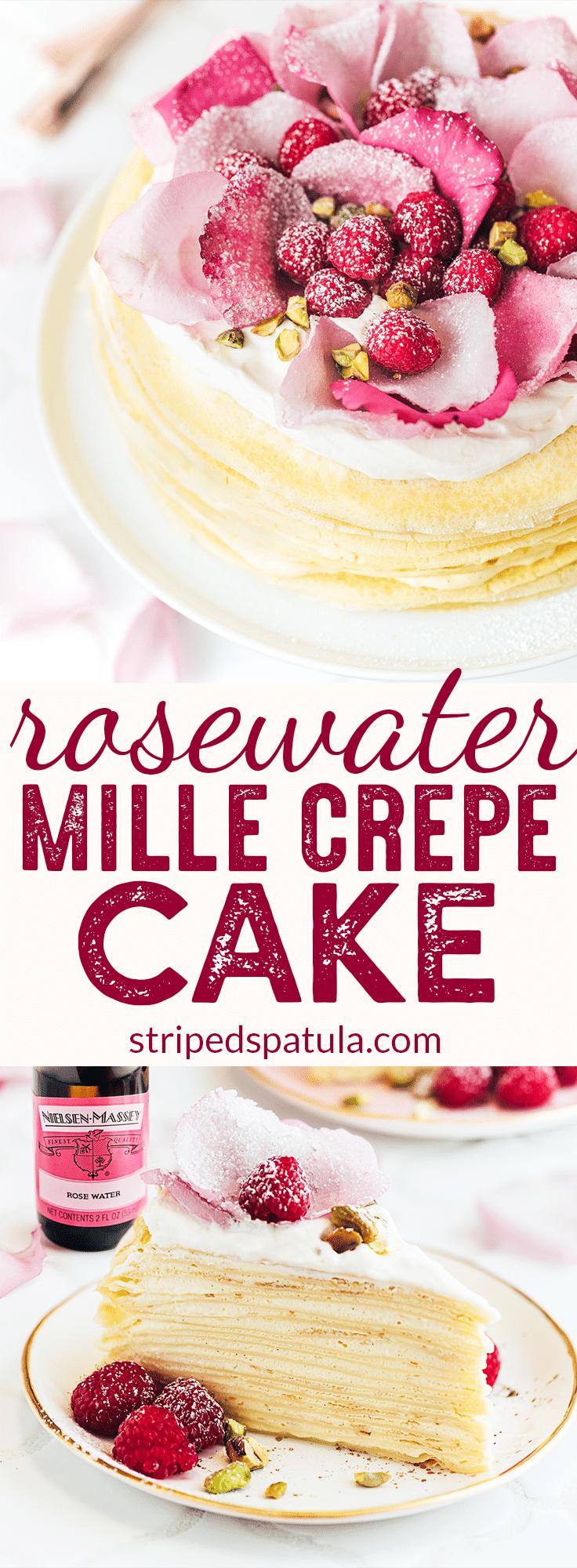 Cake Recipes Using Rose Water
