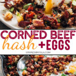 how to make corned beef hash and eggs