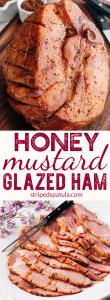 ham recipe with honey mustard bourbon glaze