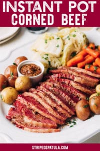 how to make corned beef in the instant pot
