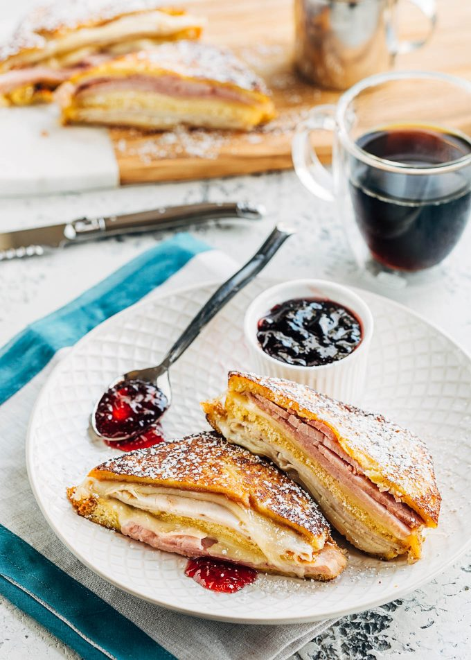 monte cristo recipe with red currant jam